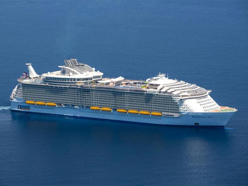 10 largest cruise liners in the world