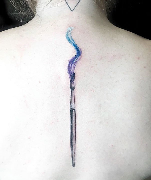 Оригинальные татуировки на спину