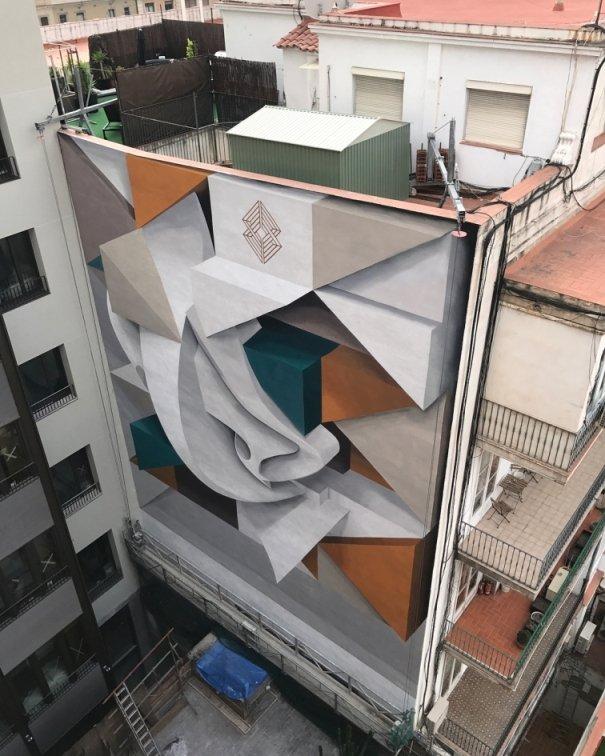 Уличные 3D-рисунки от художника Peeta