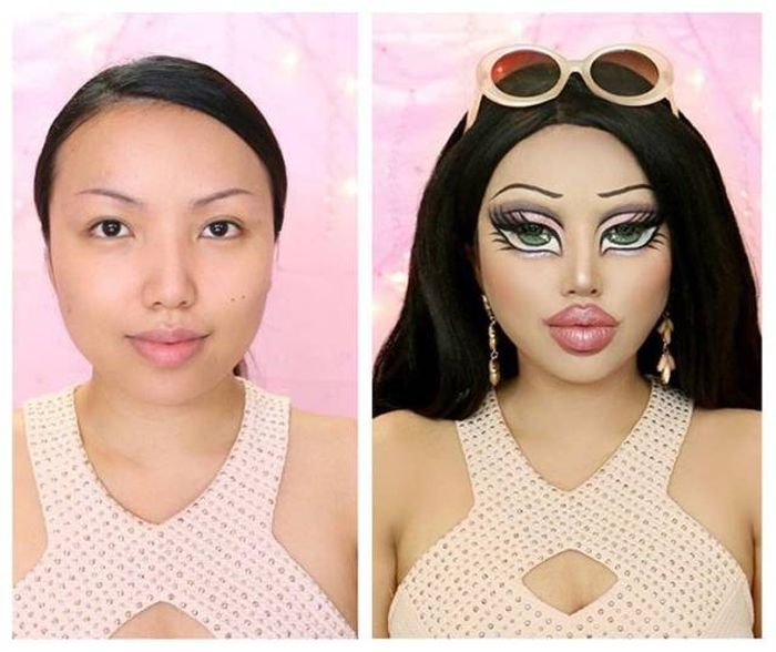 Мастер макияжных перевоплощений Промис Таманг Фан