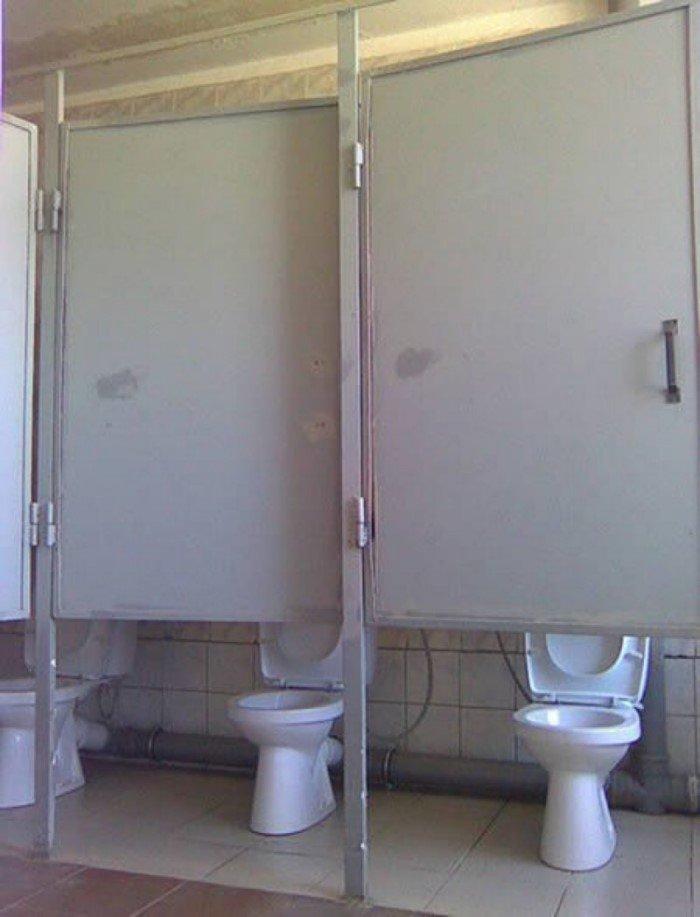 15 катастрофически ужасных туалетов