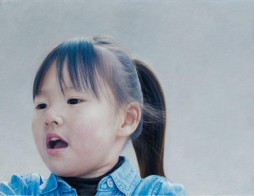 Гиперреалистичные портреты Каи Миено