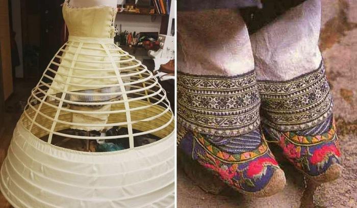Изощренные предметы гардероба прошлого
