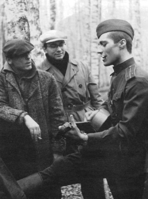 Кадры со съемочных площадок советских фильмов