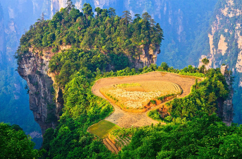 Путешествие в национальный парк Китая