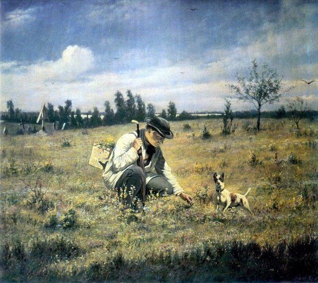 Жизнь людей в XIX веке на картинах Василия Перова