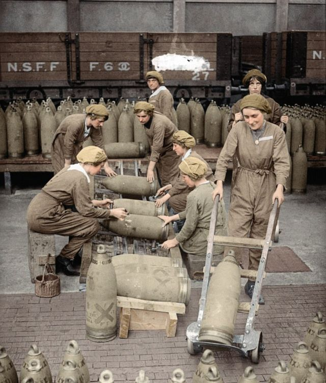 Интересные фото времен Первой мировой войны