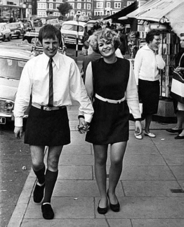 Коллекция юбок для мужчин из 1960-х