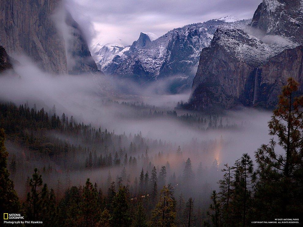 Прогулка по национальным паркам США
