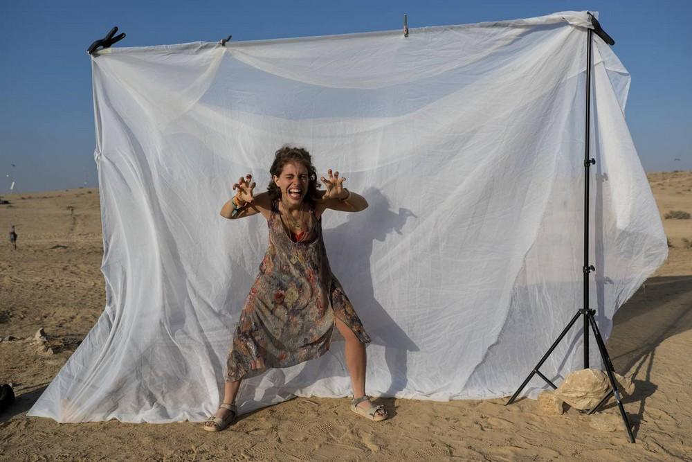 Фестиваль современного искусства MidBurn 2018 в Израиле