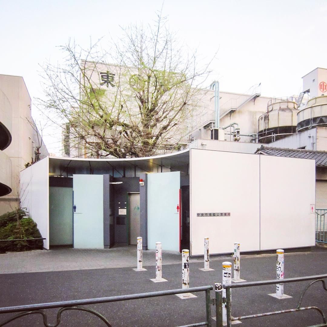 Необычные общественные туалеты Японии от Хидефуми Накамуры