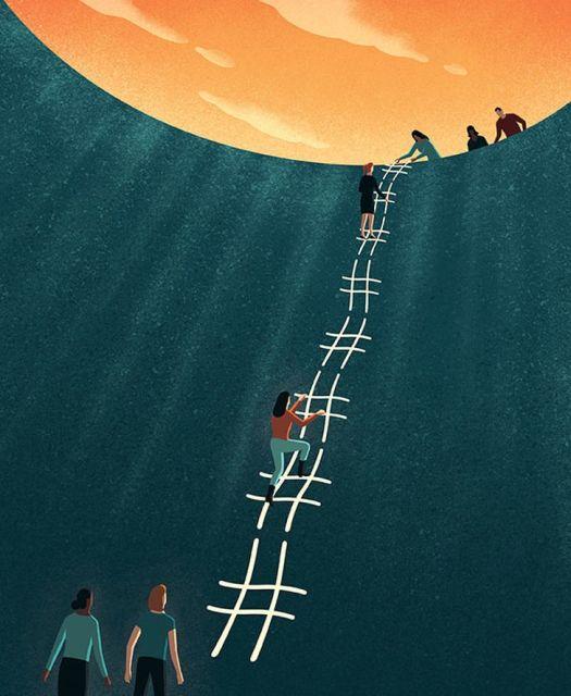 Ироничные рисунки о современном мире от Давиде Бонацци