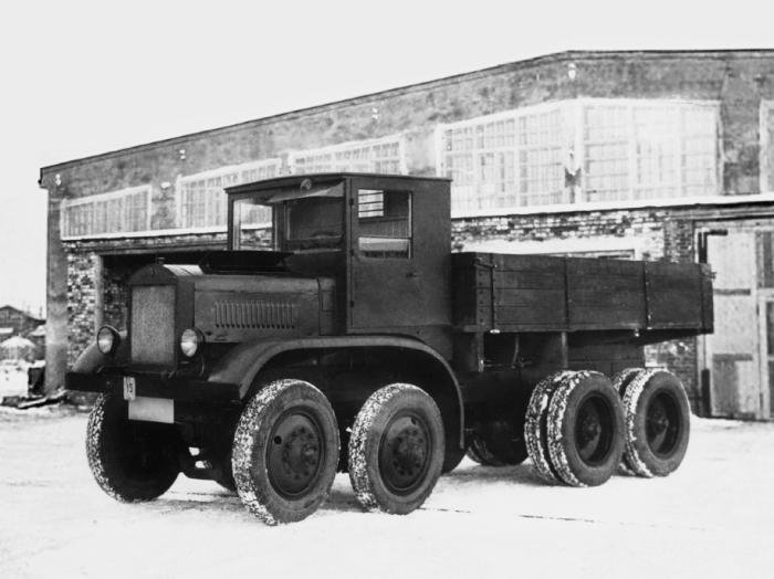 Необычные советские многоколесные авто