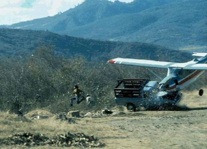 Авиапроисшествия разных лет в фотографиях