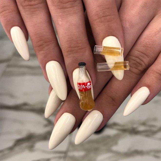 Невероятный дизайн ногтей, каким вы его ещё не видели