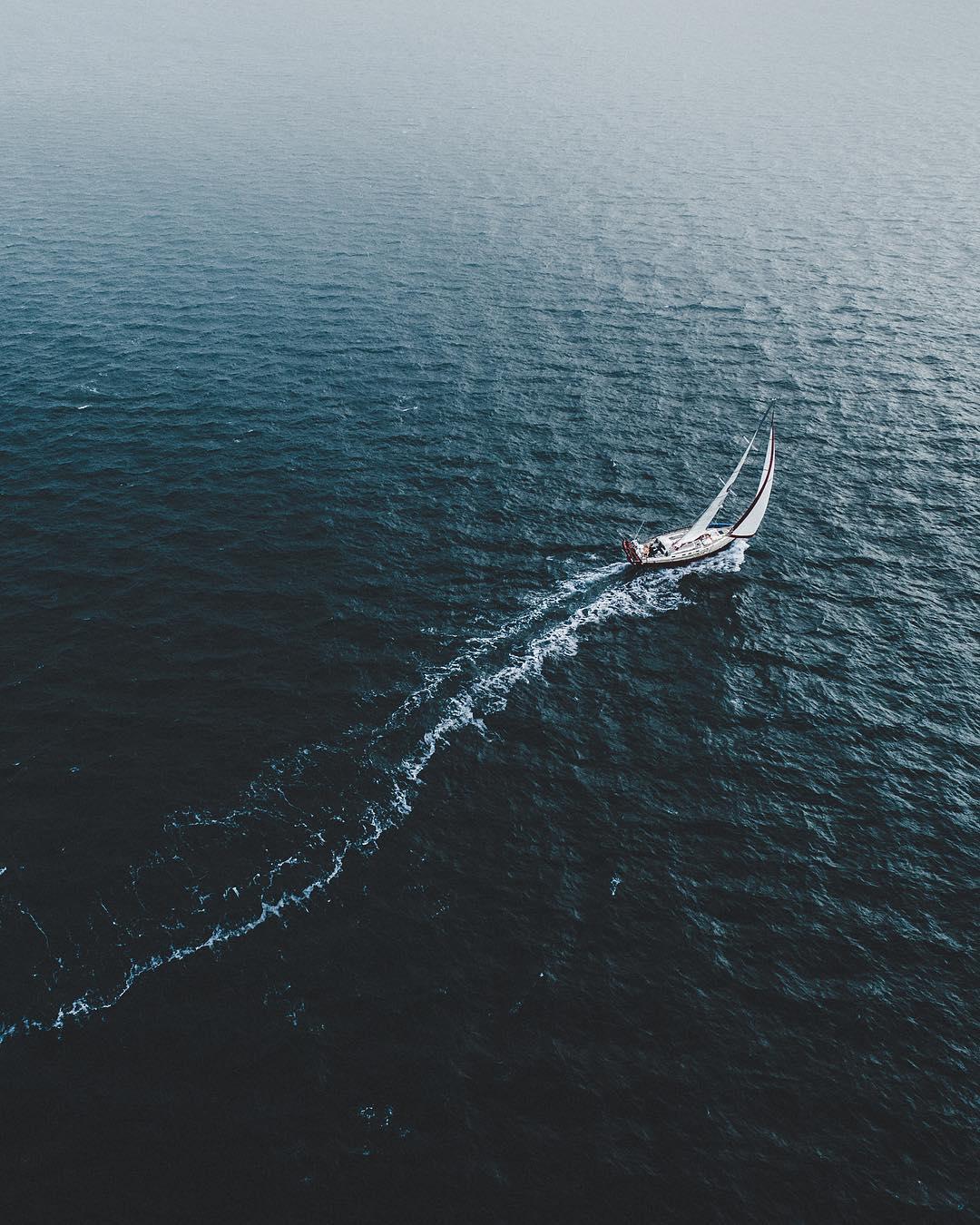 Исландия с высоты на аэрофотоснимках Бенджамина Хардмана