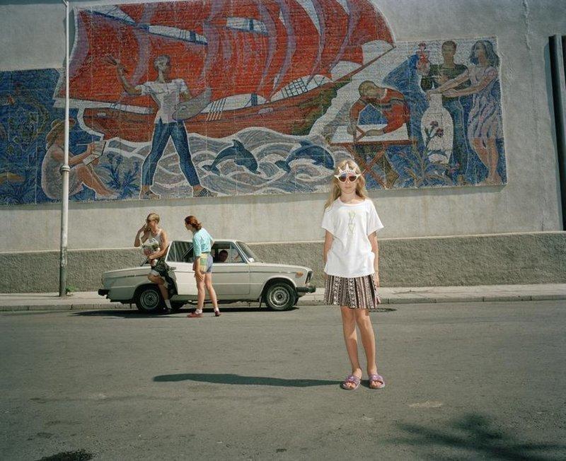 Ялта 90-х годов на снимках Мартина Парра
