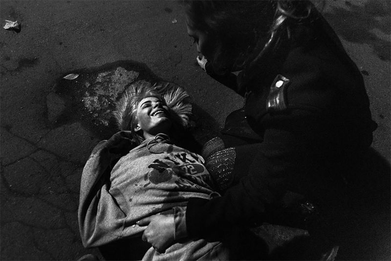 Московские тусовщики в беспробудном угаре