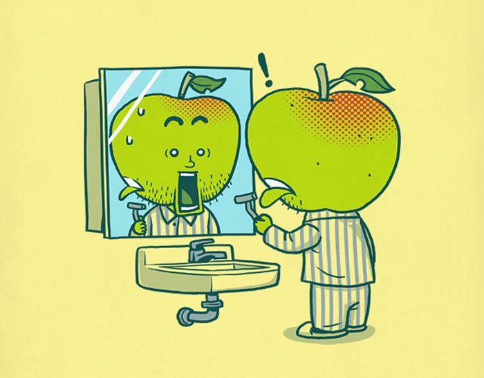 Необычные ситуации в рисунках Бена Чена