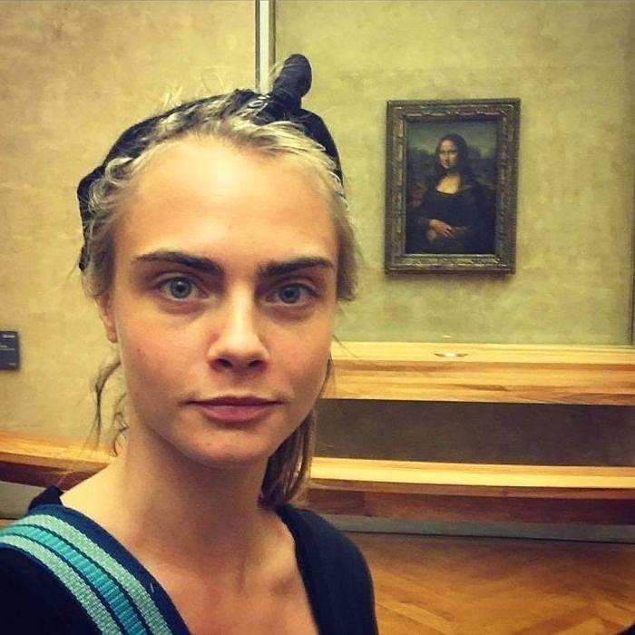 Знаменитые женщины без макияжа