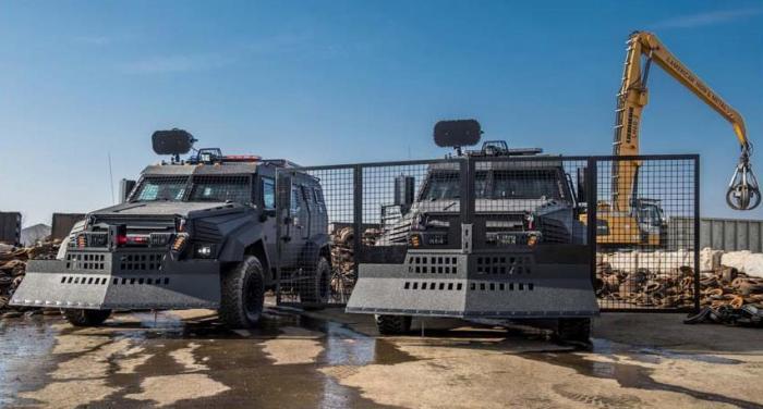 Канадские инженеры создали новый бронированный внедорожник