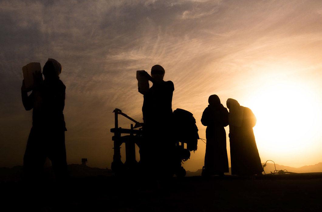 Фотопроект о буднях работников известнякового карьера