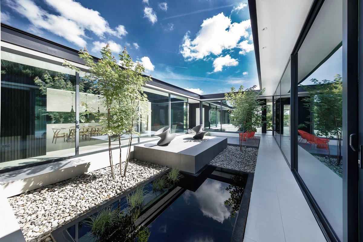 Стильный частный дом в Великобритании