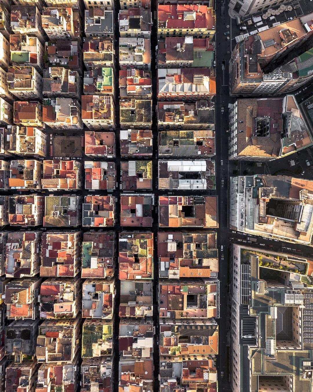 Италия сверху: дрон-фотографии от Марко Гизетти
