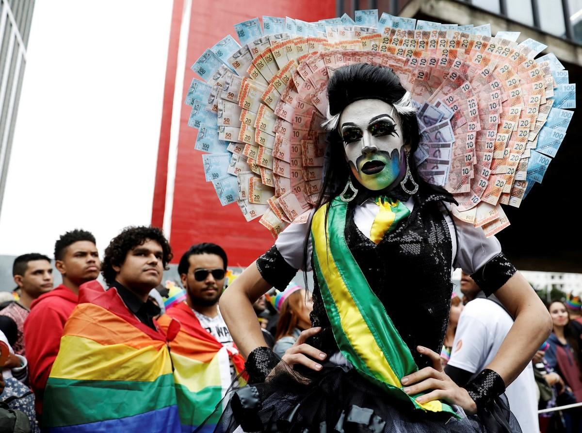 Гей-парад в Сан-Паулу