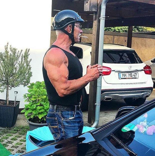 Хайнц Вернер Бонгард - 74-летний бодибилдер из Германии