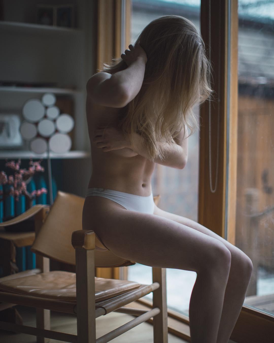 Чувственные снимки девушек от Дина Остетто