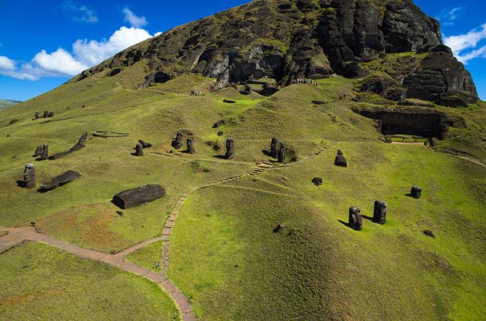 Ученые раскрыли секрет статуй на острове Пасхи