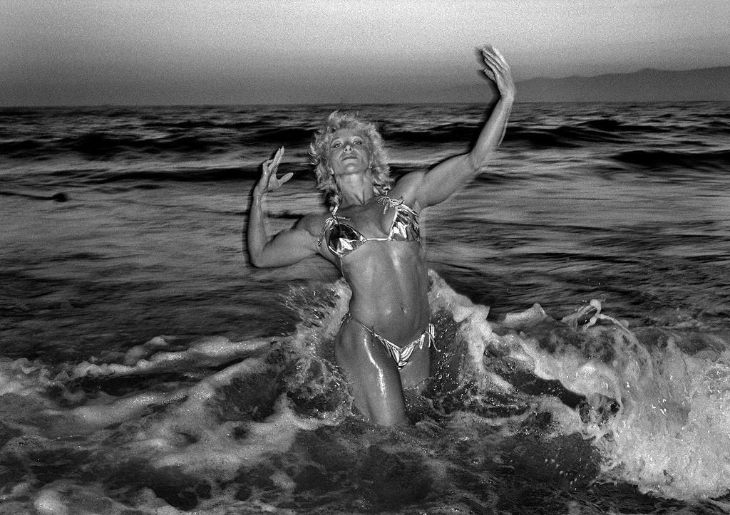 Легендарный пляж Венис-Бич в объективе Клаудио Эдингера
