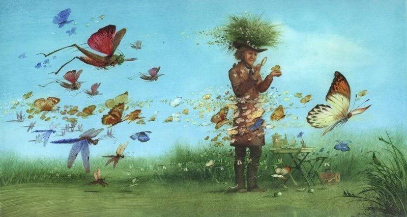 Российский гений книжной иллюстрации Игорь Олейников