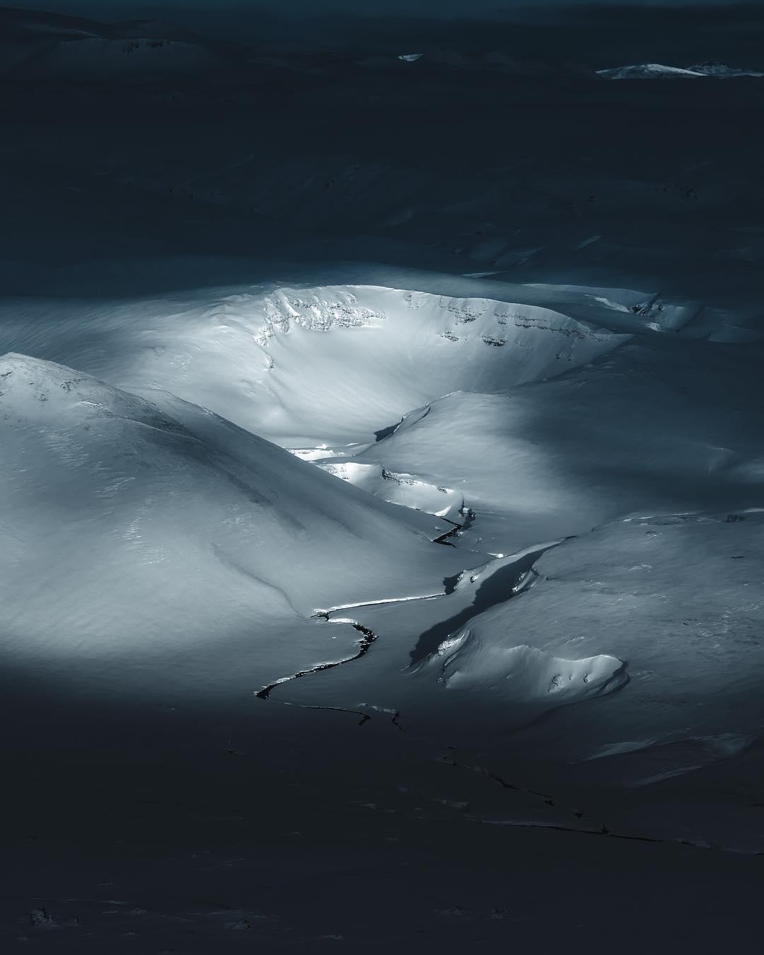 Гренландия и Исландия с высоты от Бена Саймона Рена