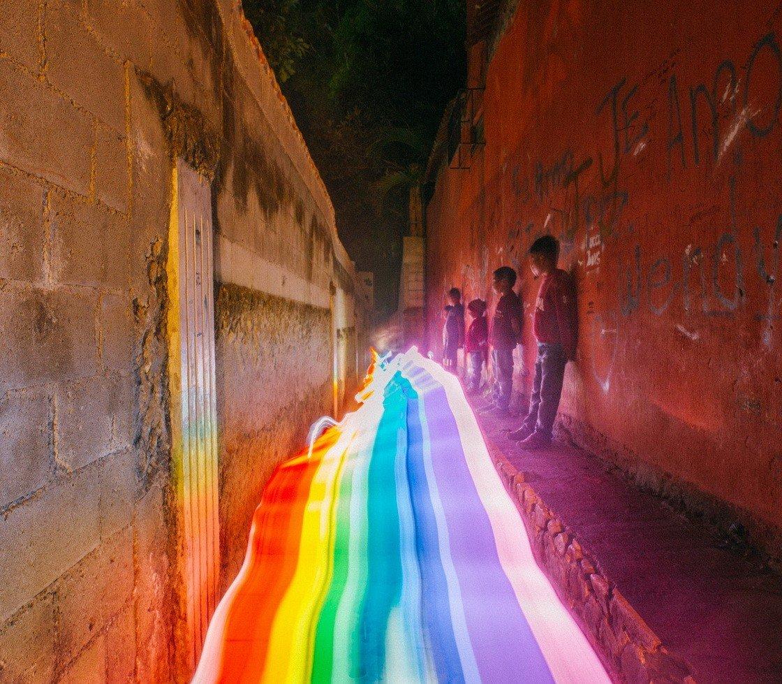 Радужные тропинки на снимках Дэниела Меркаданте