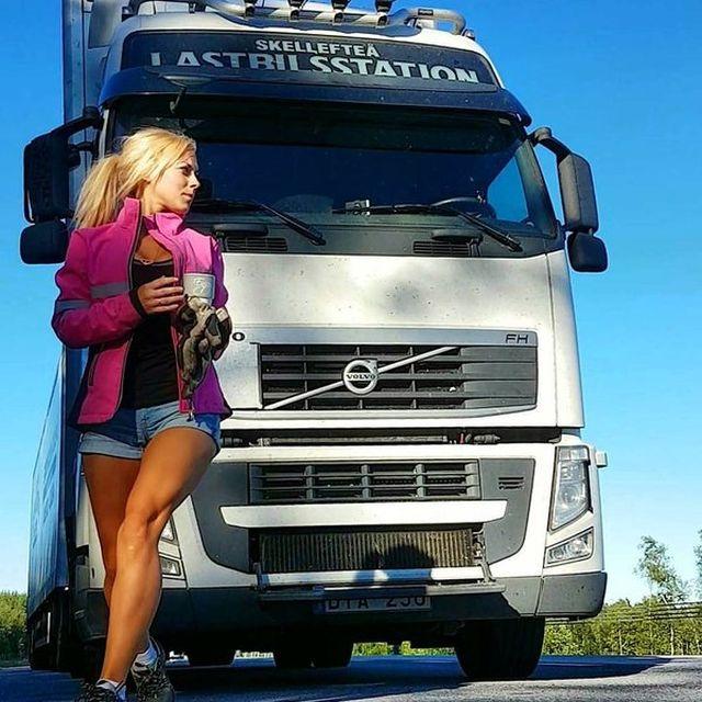 Кем работает эта молодая шведка?