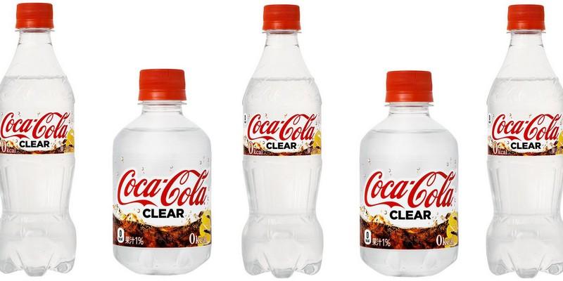 В Японии выпустили прозрачную Кока-Колу