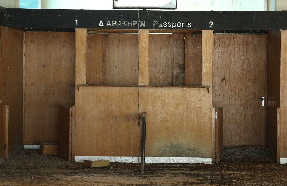 Заброшенный аэропорт на Кипре