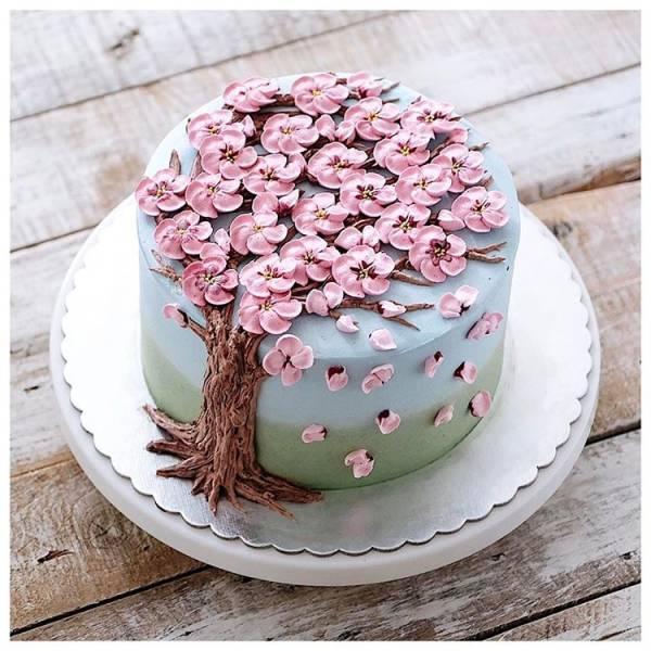 Красивые торты, как произведения искусства