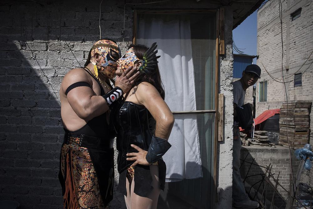 Мексиканские профессиональные рестлерши