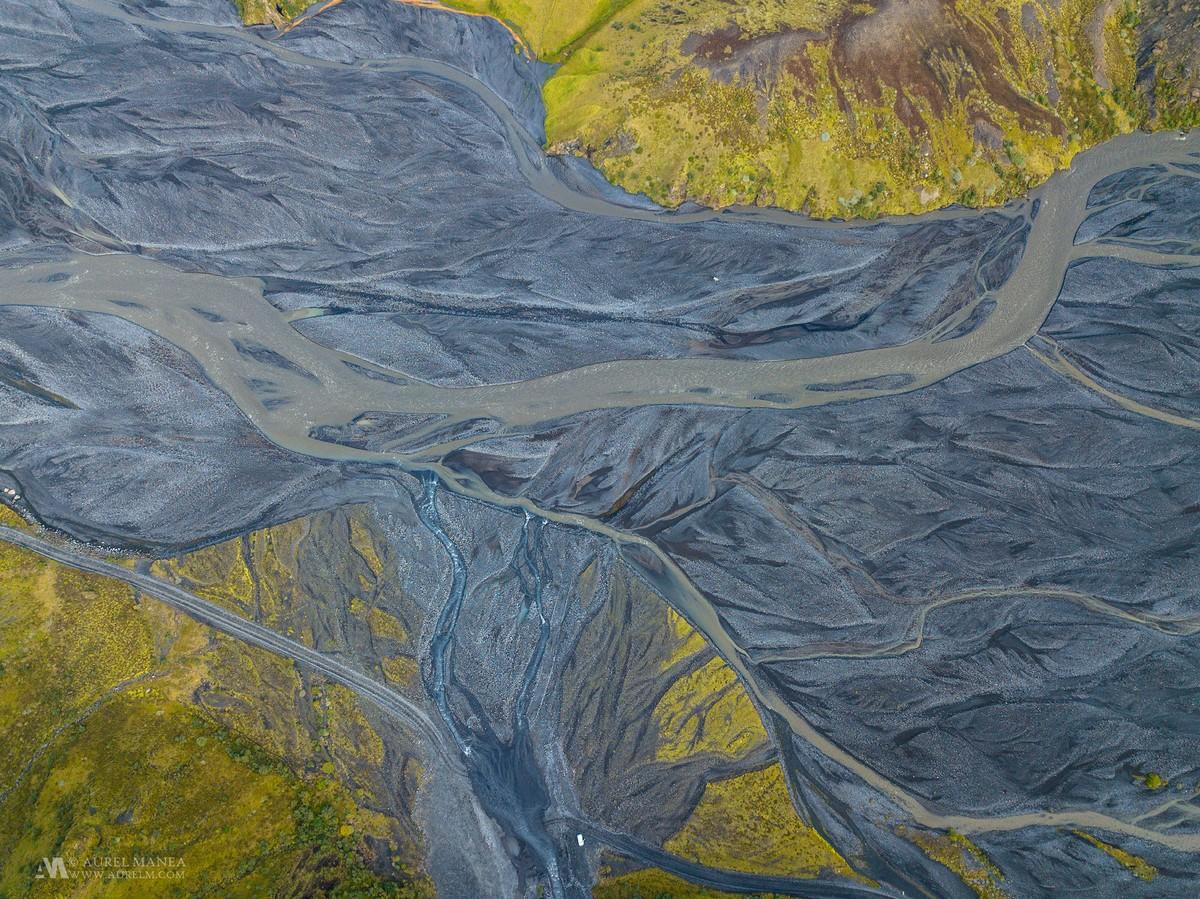 Исландия с высоты от Аурэля Манеа