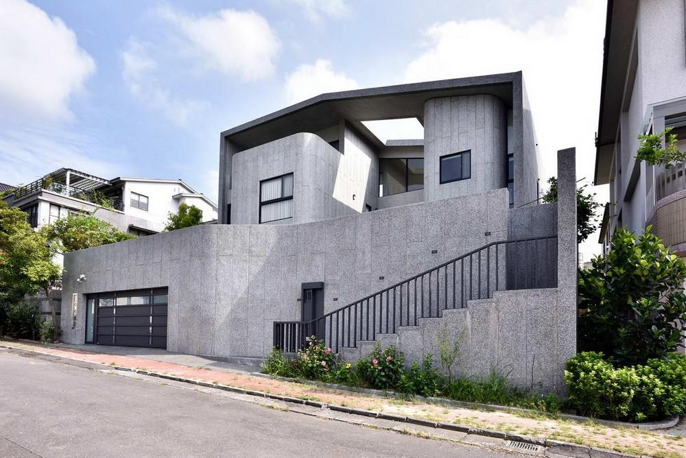 Дом с террасами на Тайване