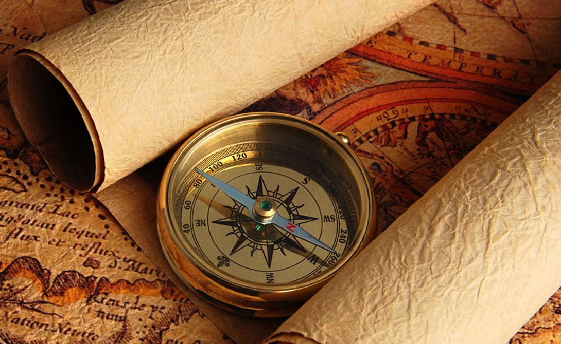 Как пользоваться компасом для чайников