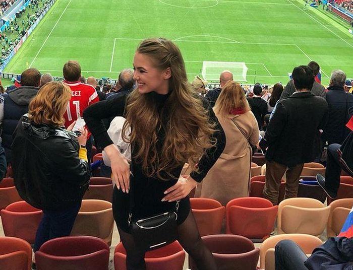 Очаровательные болельщицы на матчах ЧМ-2018