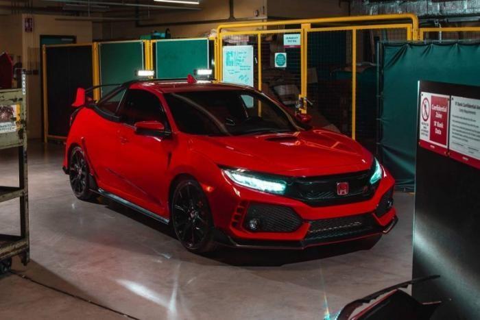 Очень быстрый пикап из Honda Civic Type R