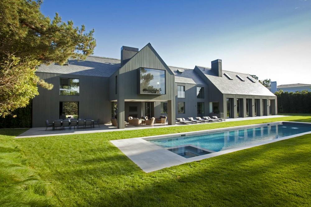 Современный дом-сарай в Калифорнии
