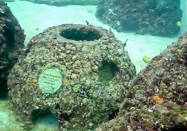 Странные конструкции в Карибском море