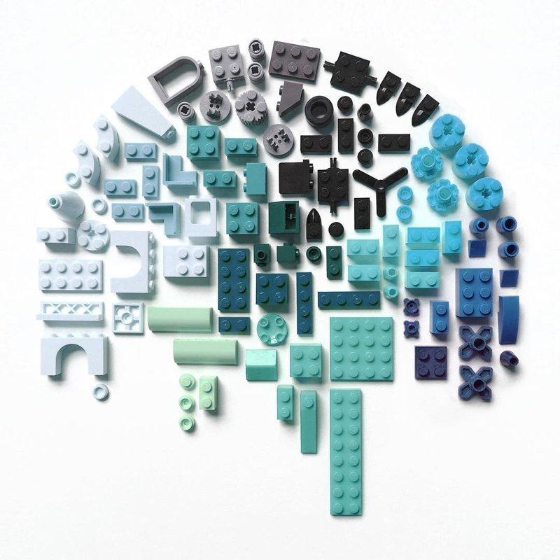 Упорядоченные предметы и узоры от Кристен Мейер