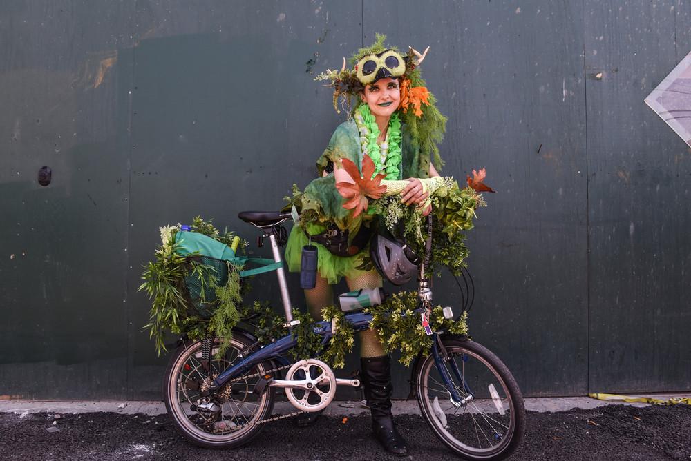 Ежегодный Парад русалок в Нью-Йорке 2018